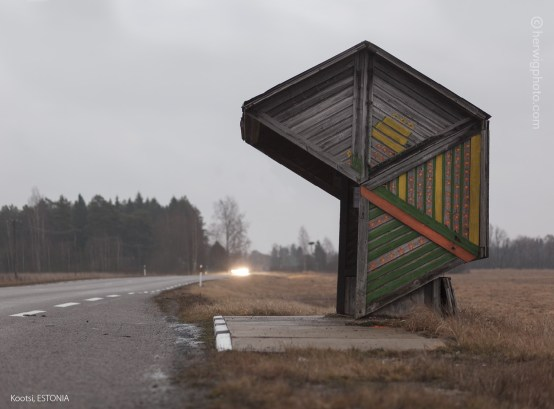 Christopher Herwig, Soviet Bus Stops, FUEL Publishing, 2015.
