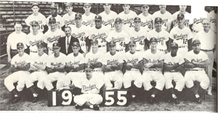 1955 The Best Brooklyn Bums Dodgers Team Memorabilia
