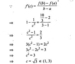 Continuity and Differentiability NCERT Exemplar Problems