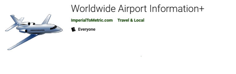 Worldwide Airport Information - Available on Google Play