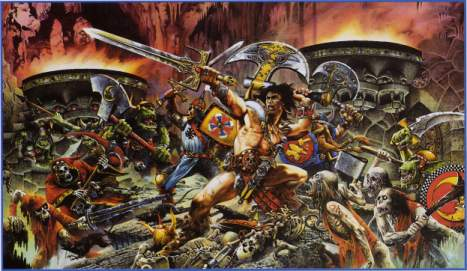 Warhammer Quest - Roleplay Book Cover Art