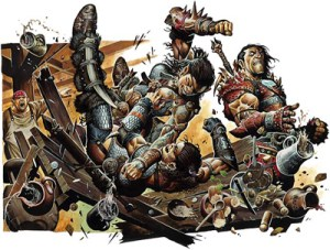 Warhammer Quest Settlement Event - Big Trouble on the Little Streets