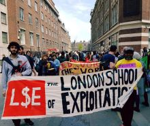 Protest at LSE