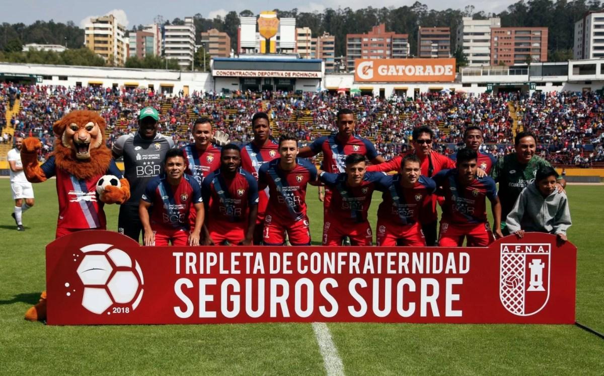 En Vivo - El Nacional VS Liga Deportiva Universitaria