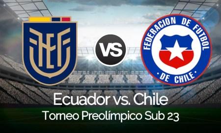 VER ONLINE Ecuador vs. Chile EN VIVO por DirecTV Sports