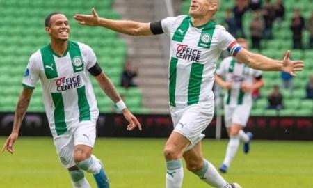 Arjen Robben marcó un golazo en Groningen en su regreso del retiro