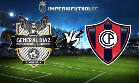 General Díaz vs Cerro Porteño EN VIVO