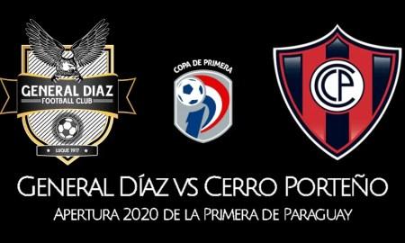EN VIVO General Díaz vs Cerro Porteño VER PARTIDO