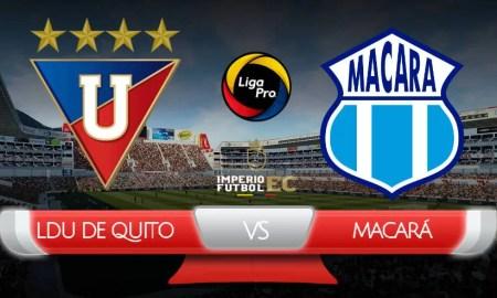 VER Liga de Quito Macará EN VIVO ONLINE