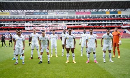 Liga de Quito alineación