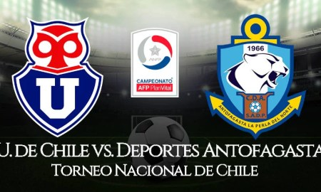 Universidad de Chile vs. Antofagasta EN VIVO por CDF
