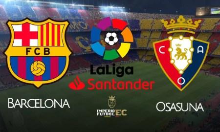 Barcelona vs Osasuna EN VIVO DirecTV Sports por LaLiga Santander