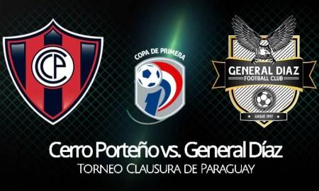 Cerro Porteño vs General Díaz EN VIVO por Torneo Clausura de Paraguay