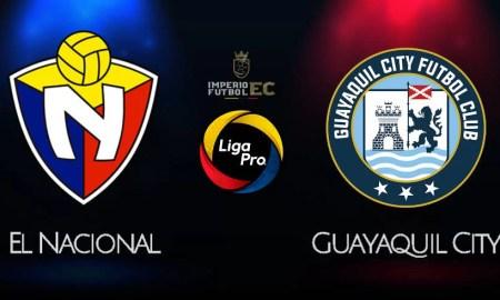 EL NACIONAL vs GUAYAQUIL CITY EN VIVO GOL TV LIGA PRO 2020