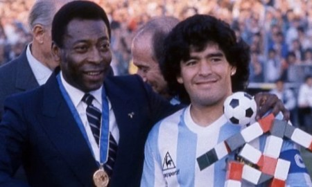 El mensaje de Pelé para Diego Armando Maradona
