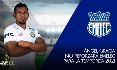 Ángel Gracia NO reforzará Emelec para la siguiente temporda 2021