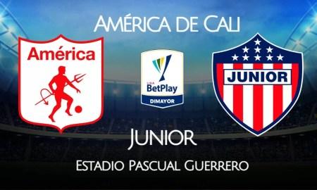 América de Cali vs Junior EN VIVO cómo ver la semifinal de la Liga Betplay 2020