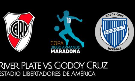 HOY River Plate vs Godoy Cruz EN VIVO por Copa Diego Maradona