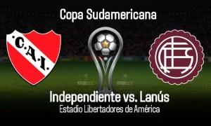 Independiente vs Lanús EN VIVO DirecTV por cuartos de final de Copa Sudamericana