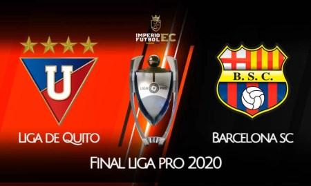 LIGA DE QUITO vs BARCELONA SC EN VIVO GOL TV FINAL LIGA PRO 2020
