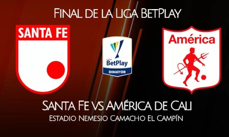 Santa Fe vs América de Cali EN VIVO por Win Sports FINAL de la Liga BetPlay