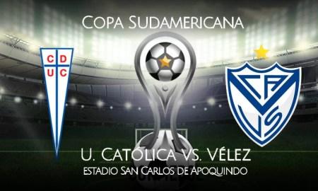 U. Católica vs. Vélez EN VIVO DirecTV Sports por cuartos de Copa Sudamericana 2020