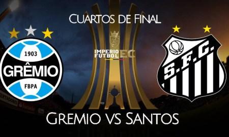 Ver Gremio – Santos EN VIVO Fox Sports partido por Copa Libertadores