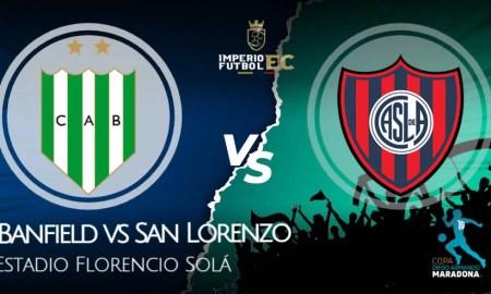 Banfield vs San Lorenzo EN VIVO ver fecha 5 Copa Diego Maradona