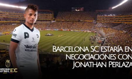 Barcelona SC estaría en negociaciones con Jonathan Perlaza