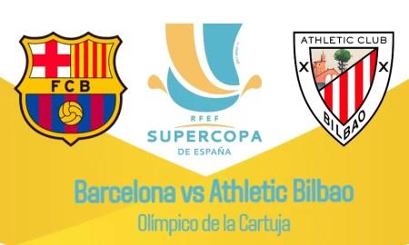 Barcelona vs Athletic Bilbao EN VIVO final Supercopa de España