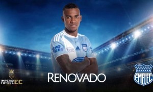 Club Sport Emelec anunció la renovación de Dixon Arroyo hasta 2023
