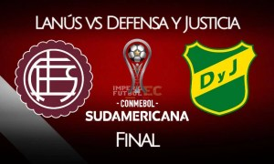Lanús vs Defensa y Justicia EN VIVO final de Copa Sudamericana