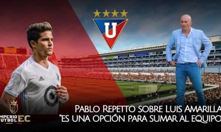 Pablo Repetto hablan sobre Luis Amarilla es una opción para sumar al equipo