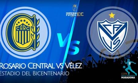 Rosario Central vs Vélez EN VIVO por la Copa Diego Maradona