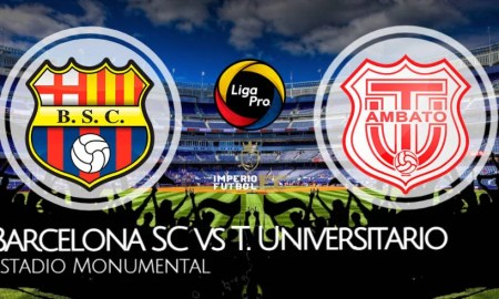 Barcelona SC vs Técnico Universitario EN VIVO GOL TV por la LigaPro