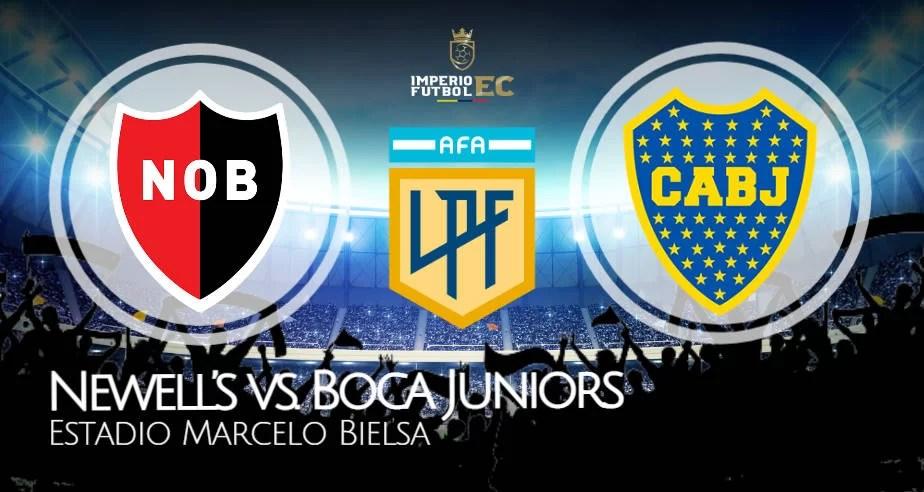 Boca Juniors vs Newell's EN VIVO FOX Sports por la Copa de la Liga Profesional