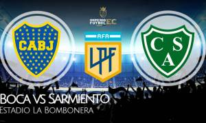 Boca vs Sarmiento EN VIVO por la Copa de la Liga Profesional