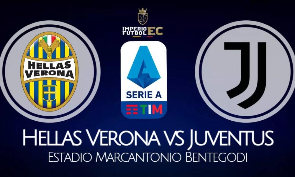 Juventus vs Hellas Verona EN VIVO ESPN por la Serie A