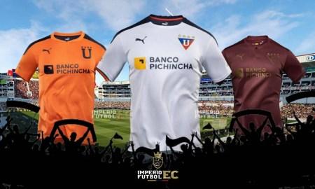 Liga de Quito da a conocer su nueva camiseta para el temporada 2021