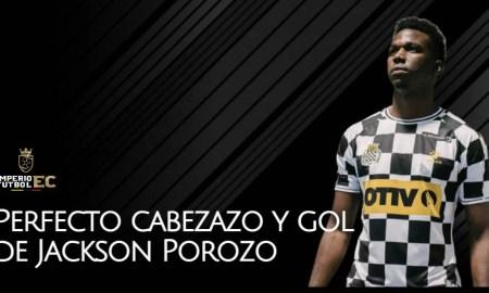 Perfecto cabezazo y gol de Jackson Porozo en el empate frente al Porto (VIDEO)