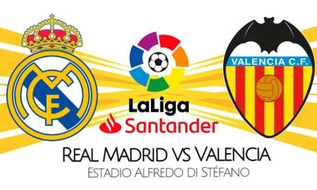 Real Madrid vs Valencia EN VIVO Canales y cómo ver por LaLiga 2021