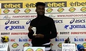 Jordy Caicedo premio