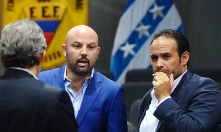 Francisco Egas y Miguel Ángel Loor se reunieron en Quito