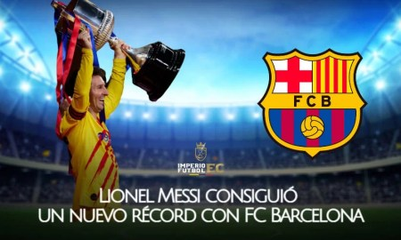 Lionel Messi consiguió un nuevo récord con FC Barcelona
