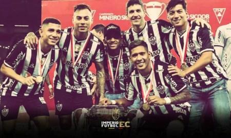 Alan Franco se consagró campeón con el Atlético Mineiro por el Campeonato del Estado de Minas Gerais