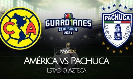 América - Pachuca EN VIVO, ONLINE y EN DIRECTO este domingo 16 de mayo por la vuelta de cuartos de final de Liguilla 2021.
