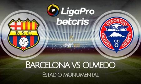 Barcelona SC - Olmedo VER EN VIVO por la fecha 13 de la Liga Pro 2021
