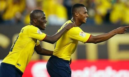 Enner Valencia y Antonio Valencia