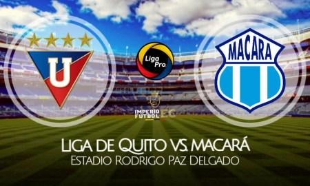 LDU de Quito - Macará VER EN VIVO por la Fecha 10 de la Liga Pro 2021