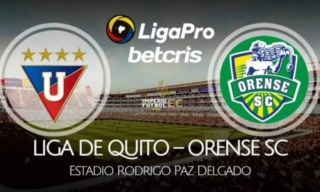 LDU de Quito - Orense SC EN VIVO por la fecha 14 de la Liga Pro 2021